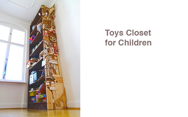 Toys Closet for Children
