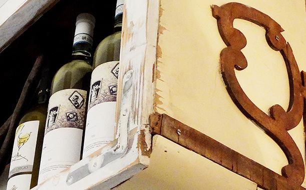 Restaurant Wine Shelf